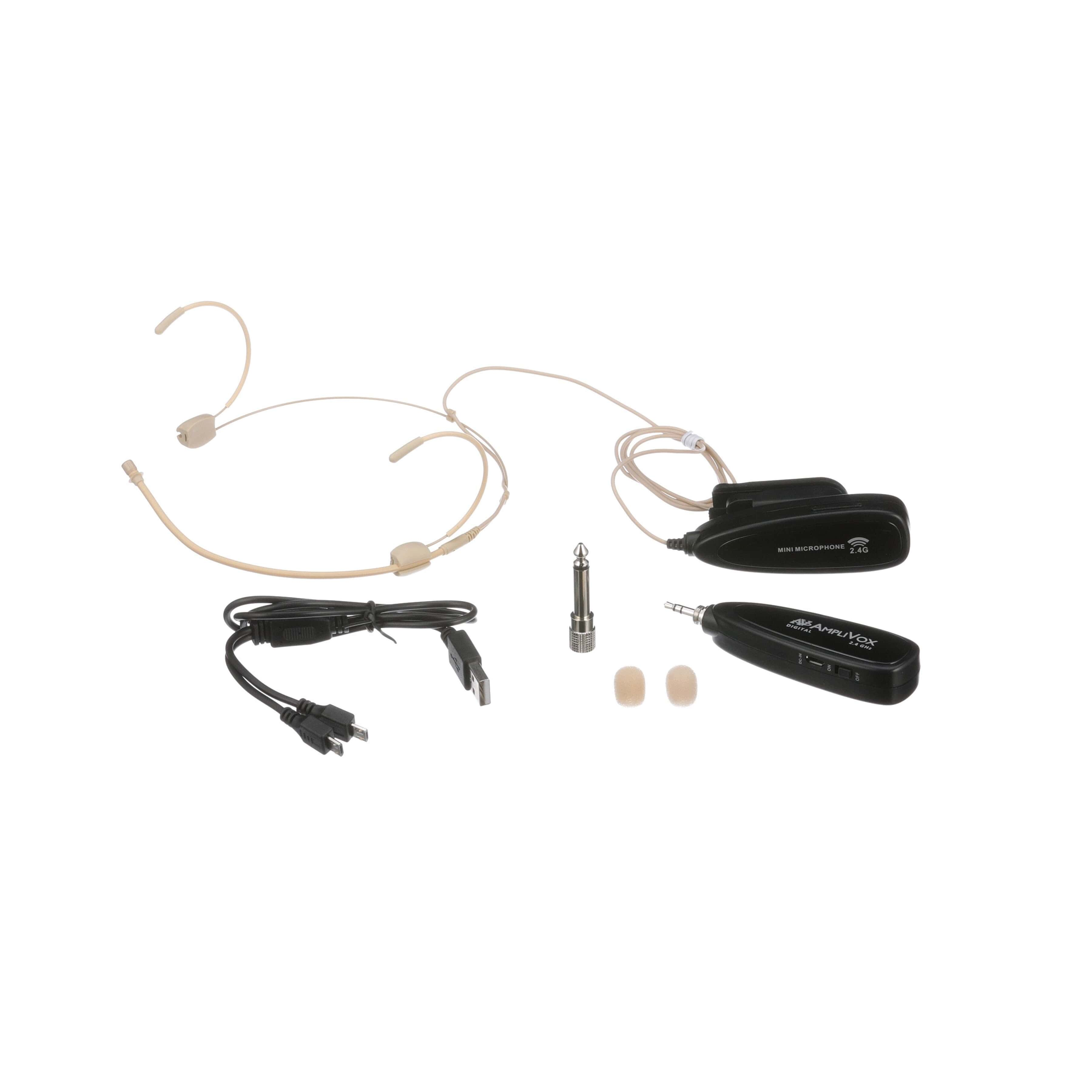 Classroom Audio System With Wireless Microphone Simple Circuit Loading