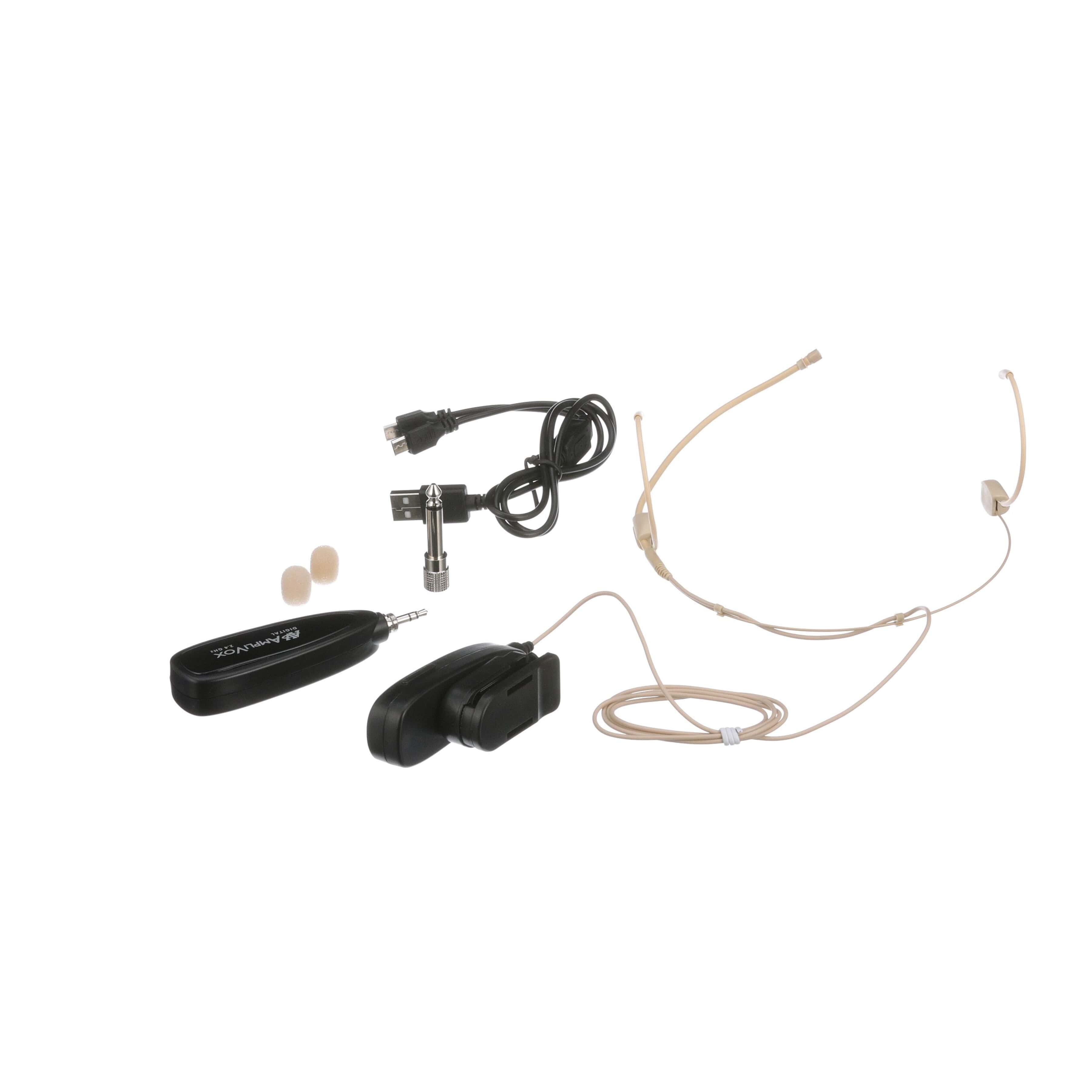 Classroom Audio System With Wireless Microphone Simple Circuit