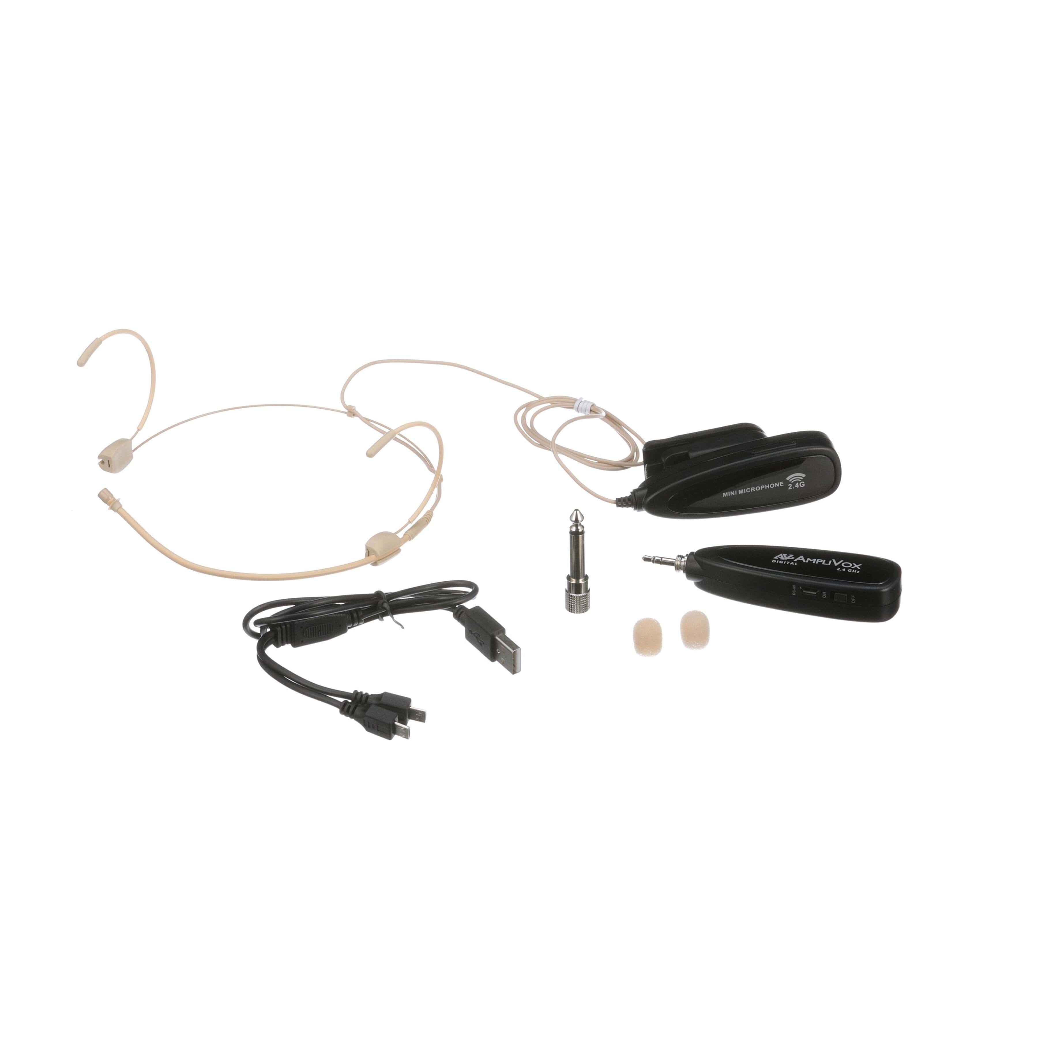 Classroom Audio System With Wireless Microphone Usb Headset Wiring Diagram